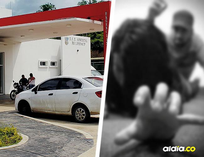 A las 2:34 de la madrugada de ayer  murió en el hospital de Luruaco la adolescente de 15 años