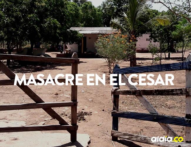 Las víctimas tenían 10 días de estarse quedando en una finca cerca del sector | Archivo
