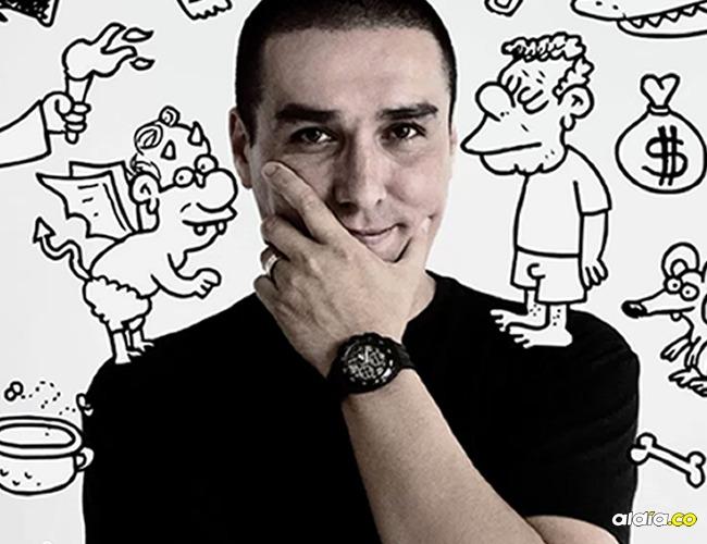 El caricaturista teme por su vida y prefirió alejarse de las redes. | Tomada de: Internet.