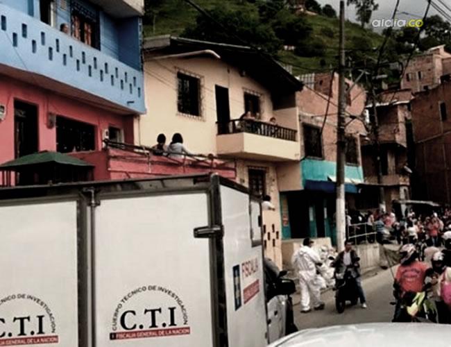Barrio donde ocurrió el asesinato | Noticias Caracol