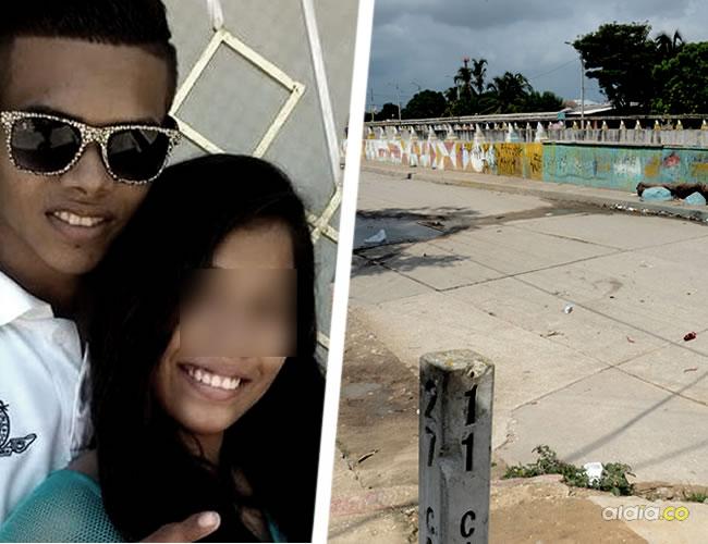 Reynaldo Bobadilla Fontalvo, de 18 años, se encuentra en delicado estado de salud después del atentado en el que murió su pareja sentimental | Cortesía