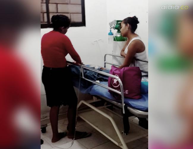 El niño de cuatro años permanece internado en el hospital debido a los síntomas | Cortesía