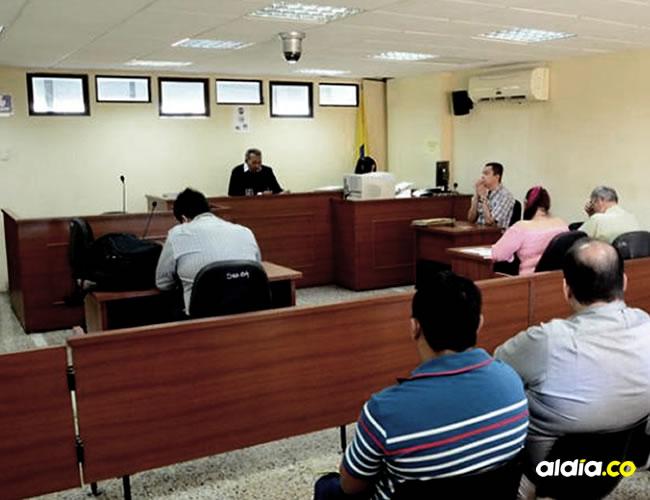 Imagen del momento en que se lee la sentencia contra el médico | Cortesía