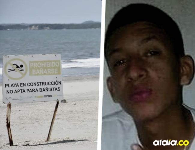 Las playas donde falleció Jheferson Marín Tinoco   Foto autorizada
