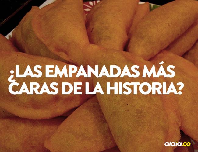 Las empanadas son el plato para matar el hambre más famoso de Colombia   ALDÍA.CO