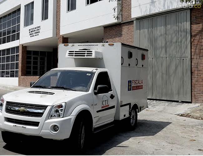 Hasta la morgue de Medicina Legal fue traído el cuerpo sin vida de Emilio Angulo Medina. | Al Día