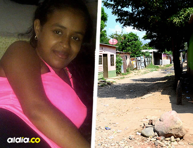 Lendys Peñuela recibió un disparo en el abdomen | ALDÍA