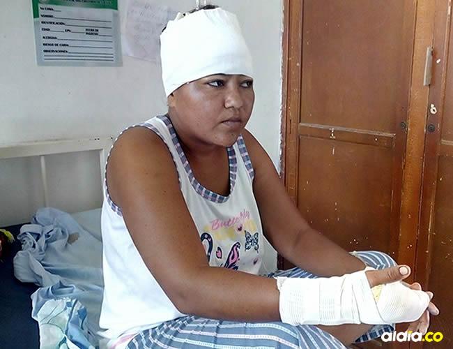 El machetazo que recibió en la mano le afectó nervios y tendones | ALDÍA