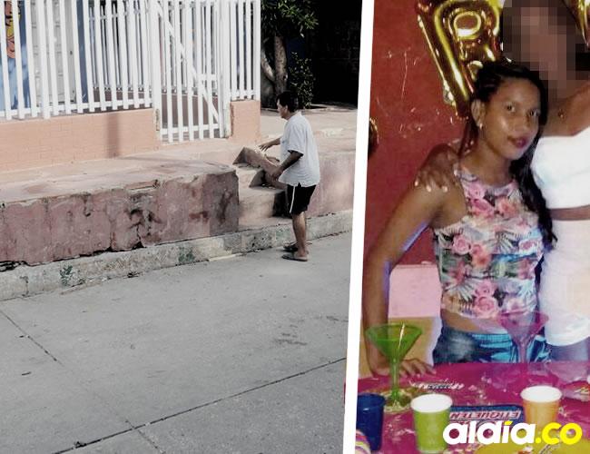 Yanelis Lucia Flórez Samper fue baleada enfrente de la casa donde vive su papá en la calle 29 No. 30-62, barrio San Roque | Luis Felipe De la Hoz