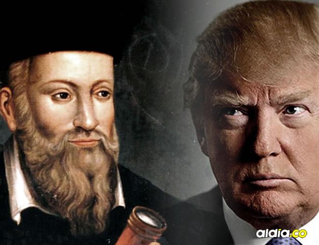 Una de las predicciones más famosas de Nostradamus para este año sería la victoria de Donald Trump