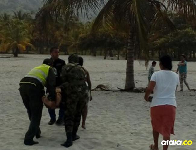 El cuerpo fue trasladado hasta Santa Marta y posteriormente hasta Aguachica | Cortesía