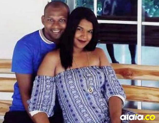 Nailibeth Martínez García, de 23 años de edad, y Arnovis Rafael Barros Berty, de 30, la pareja de novios desaparecida. Cortesía