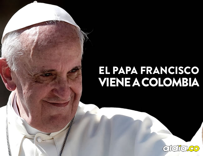 El papa Francisco estará de visita en Colombia en septiembre | ALDÍA.CO