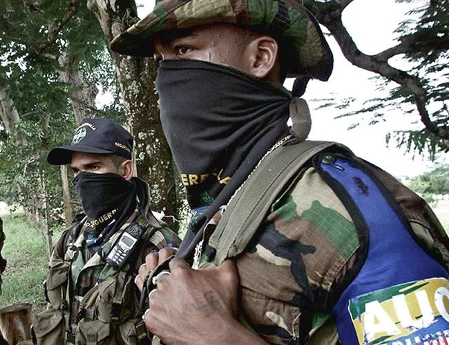 Los paramilitares terminaron de desmovilizarse en el año 2006 | Archivo