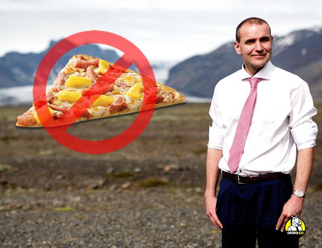 Guðni Th. Jóhannesson sentó su posición frente a la pizza con piña | ALDÍA.CO