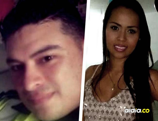 Luis Flechas Garzón y su esposa Érika Flórez Revuelta, capturados.