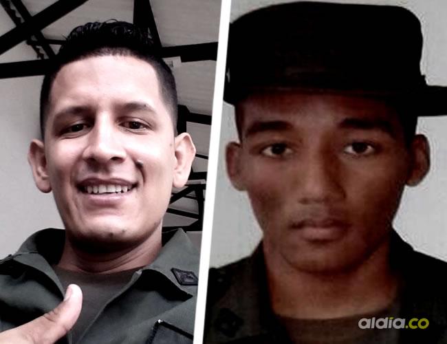 Nayib de Jesús Franco Lizarazo y Diego Chico son los policías asesinados por el Clan del Golfo | ALDÍA.CO