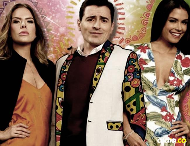 Los tres protagonistas de Polvo Carnavalero, la nueva producción de Caracol | Cortesía