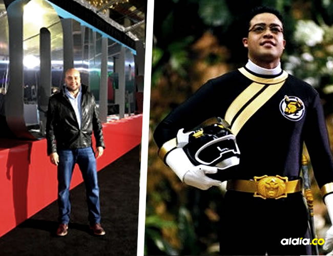 En el 2002 interpretó el Ranger Negro en Power Rangers: Wild Force | Cortesía