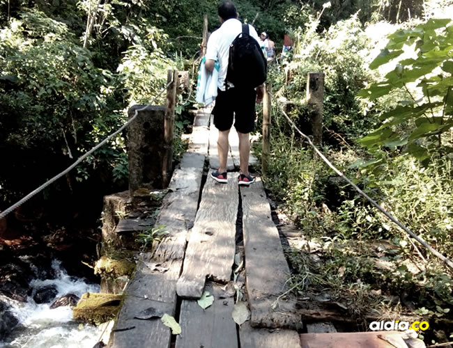 Guías turísticos creen que si no se arreglan los problemas del puente puede ocurrir una tragedia | Cortesía