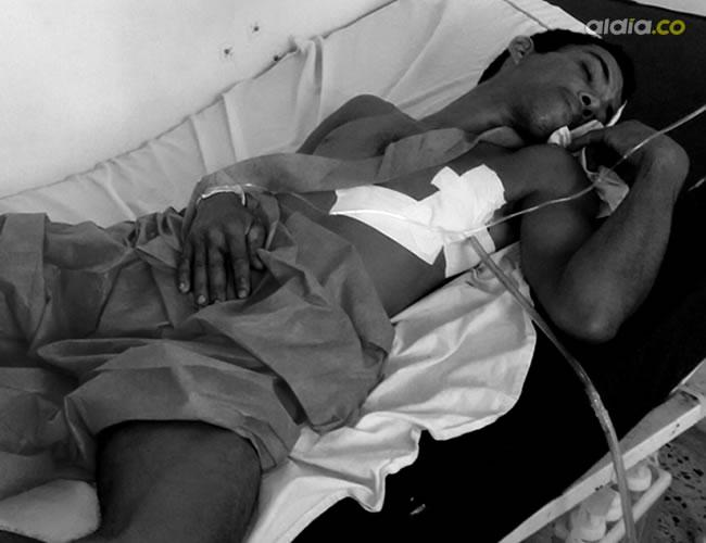 Miguel Alexánder Berrío Mejía recibió atención médica en el hospital de Riohacha, luego de que tratara de matarse | Al Día