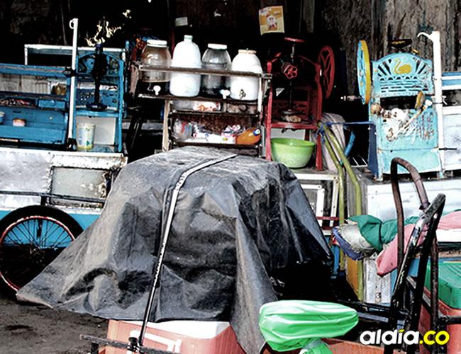 Encontraron en mal estado el lugar de almacenamiento de productos de la Asociación de Vendedores de raspa'o | ALDÍA