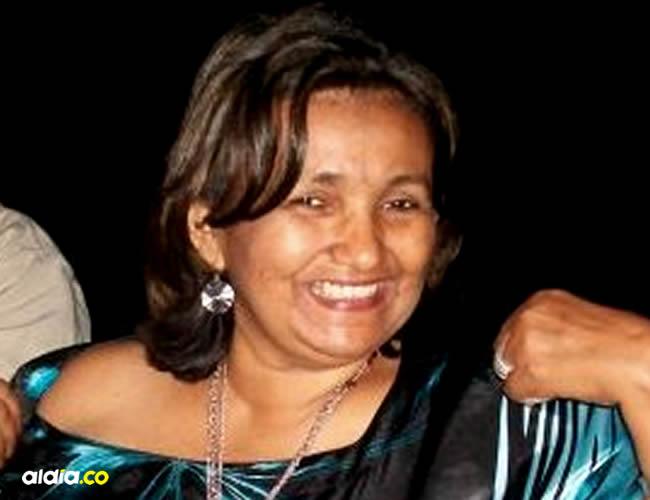 Lisbeth Solano Pérez es rectora de la Institución Educativa José Agustín Solano de Barrancas | Cortesía