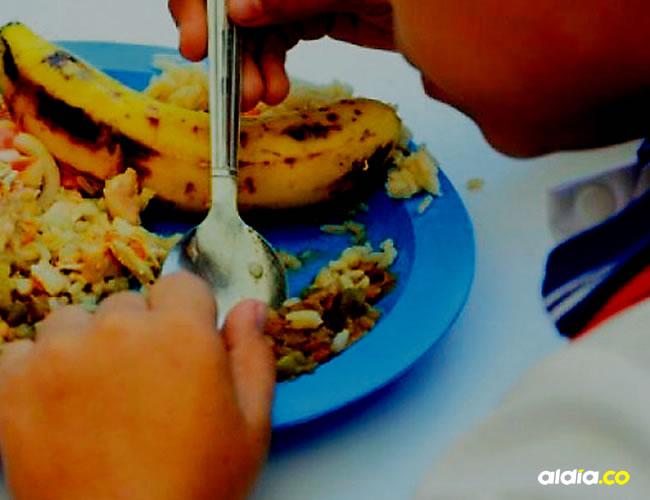 Los niños en la zona insular de la ciudad se han quedado sin la alimentación durante dos días tras el robo | Archivo