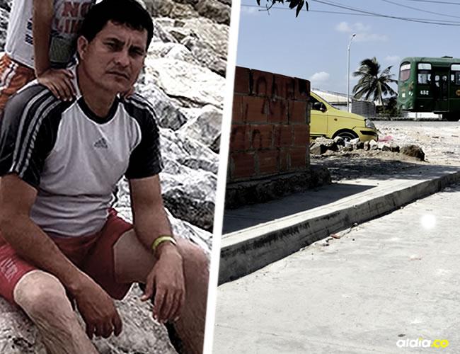 Guillín Amaya fue asesinado cuando departía con un compañero de trabajo | ALDÍA.CO