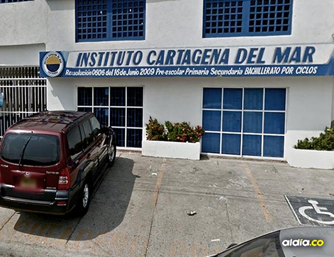 Este es el colegio que presuntamente impidió que el niño fuera matriculado | Cortesía