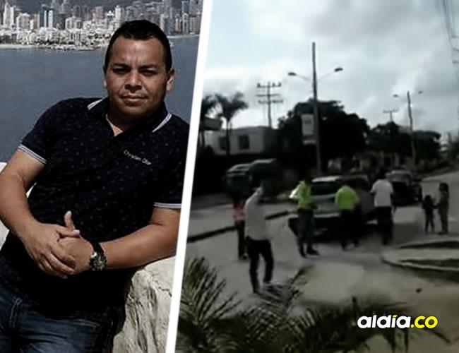 El comerciante se salvó del intento de secuestro gracias a que los transeúntes se percataron de lo que sucedía | ALDÍA.CO