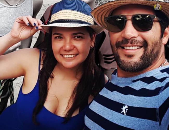 Agmeth Escaf y su esposa María Antonia Pardo tienen 25 años de casados   Instagram