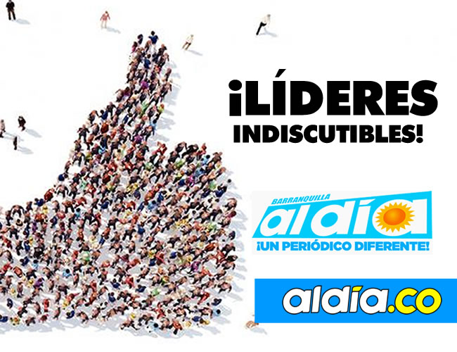 Somo el diario popular líder en todo Colombia. Imbatibles   ALDÍA.CO