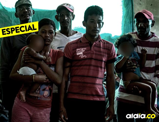Alberto García vive en una casa del barrio el Pato con su familia y otras 15 personas más | Jesús Rico