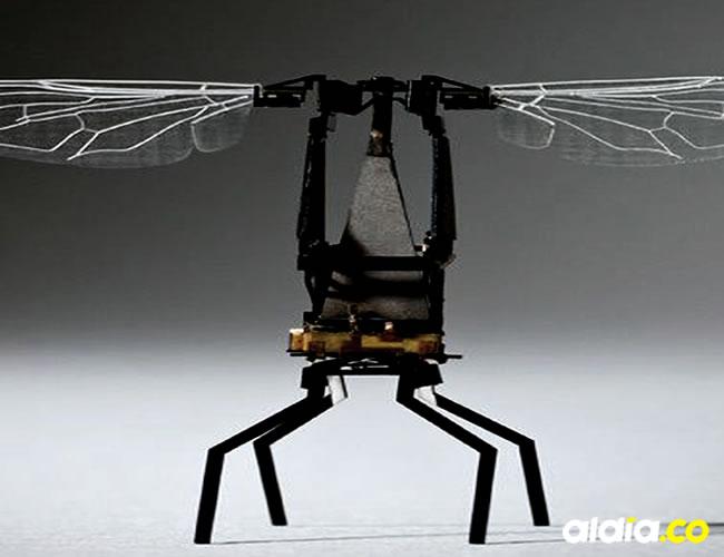 Las abejas robots son minidrones capaces de polinizar artificialmente | Cortesía