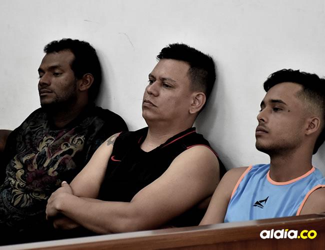 Reinaldo Buendía Buendía, Hernán Darío Rueda Bustillos, y Jorge Luis Blanco Dávila señalados del robo | AL DÍA