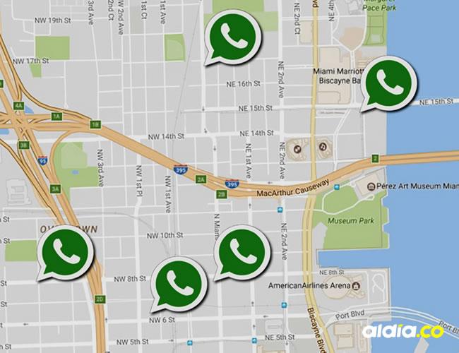 Se acabaron las falsas ubicaciones en WhatsApp | Archivo