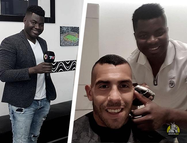 La vida de Yaca se mueve entre su pasión por el periodismo deportivo y sus peluquerías | Instagram