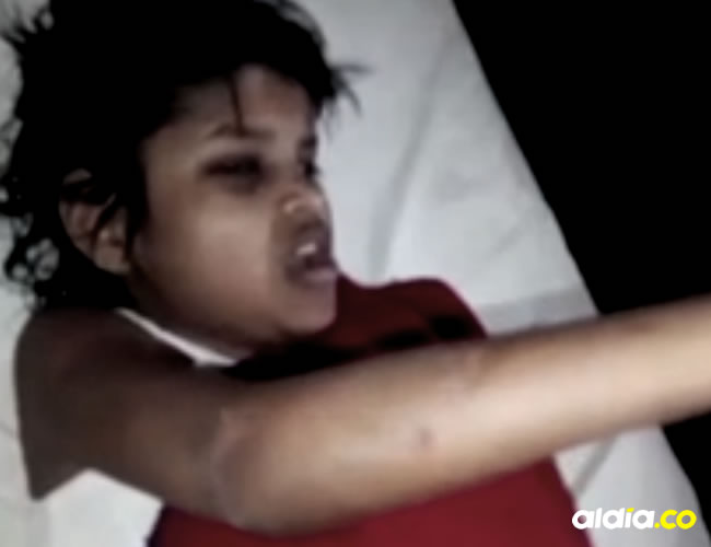 Como 'Durga del bosque' fue bautizada la pequeña niña luego del rescate   Captura de pantalla