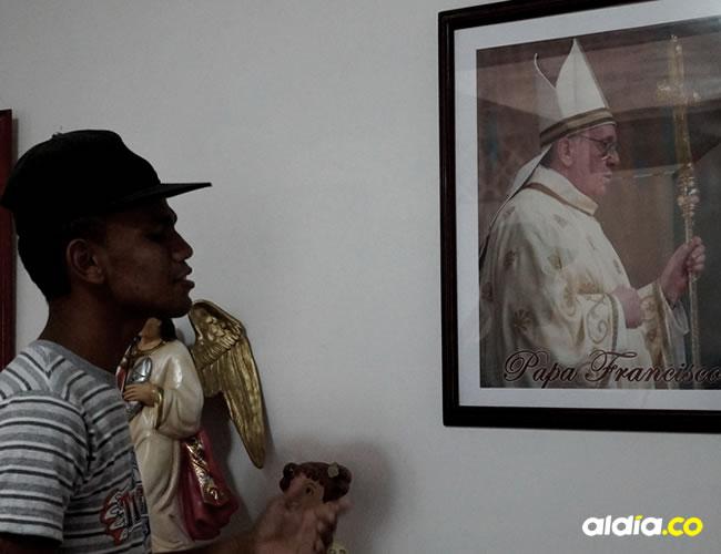 'Cheluis' practica todos los días para hacer una presentación especial cuando venga el Papa | Luis G. Castillo