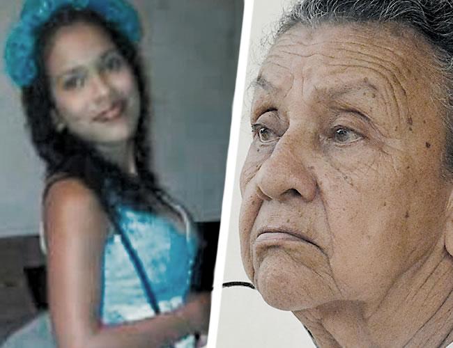 Gissella Rodríguez Jiménez, de 19 años, fallecida y su abuela Ana Manjarrés   ALDÍA y cortesía