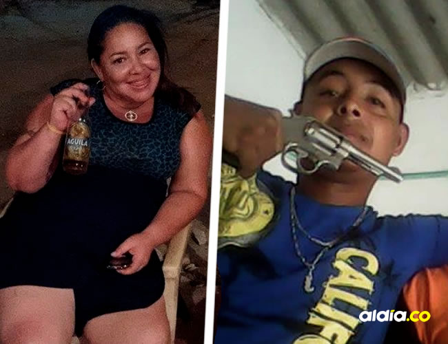 Liz Carolina Pacheco, pareja de Mario Alfonso Ibarra Robelledo | ALDÍA.CO