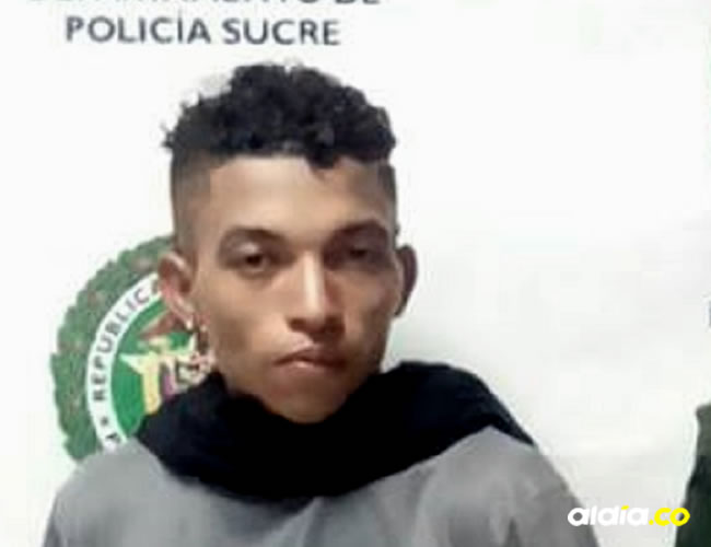 Eduardo Luis Santos Borja, capturado por la Policía   Cortesía