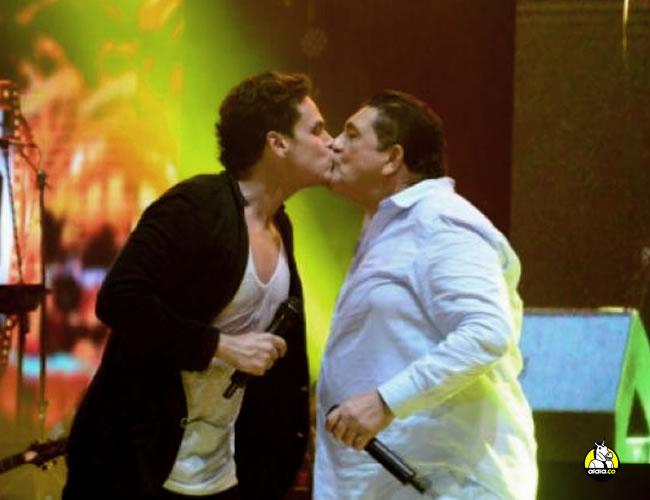 El beso entre Poncho Zuleta que causó gran revuelo en la Costa | Al Día