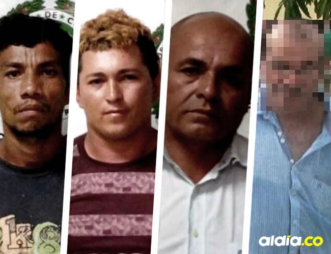 Los capturados fueron dejados a disposición de la Fiscalía General de la Nación y ayer al cierre de esta edición un juez les resolvía su situación jurídica por los hechos ocurridos en 2016.
