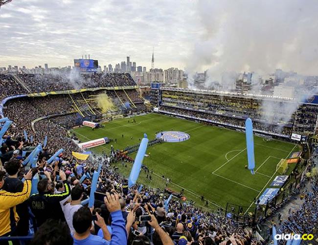 El mítico estadio La Bombonera albergará este miércoles el duelo entre Boca y Junior, por la Copa Libertadores de América 2018   Archivo