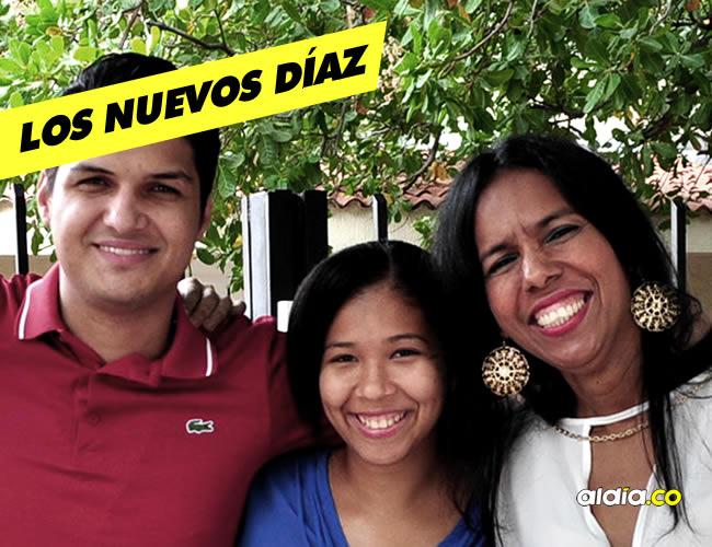 Elder Dayan Rodríguez, Sielva María Salcedo y María Alexandra Niño, hoy pueden tener el apellido Díaz. | El Heraldo