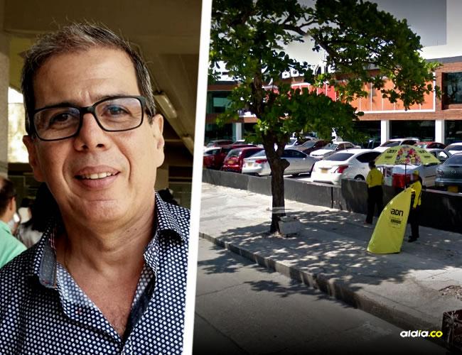 Cuando salía del centro deportivo, el diputado Jorge Rosales Steel fue abordado por un sujeto que lo amenazó con arma de fuego | Al Día