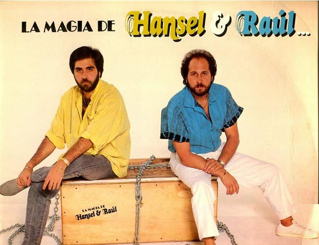 Portada del LP 'La magia de Hansel y Raúl' (1986). | Foto: Cortesía