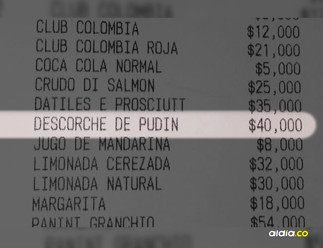 El pasado fin de semana se desató una controversia cuando un cliente del restaurante La Diva denunció que le cobraron, sin avisarle, 40.000 pesos por entrar y consumir una torta   Facebook
